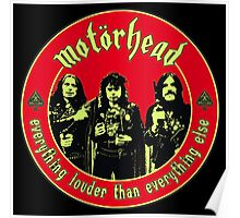 Original Motorhead Colour 2 Poster