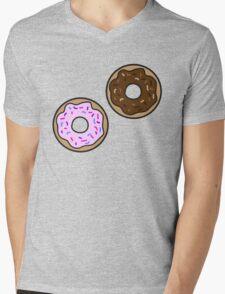 Donuts Mens V-Neck T-Shirt