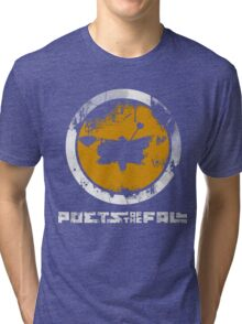 Poets Of The Fall Logo Tri-blend T-Shirt