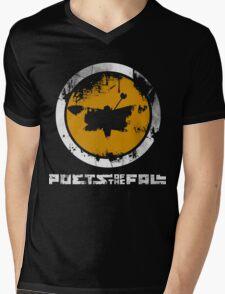 Poets Of The Fall Logo Mens V-Neck T-Shirt