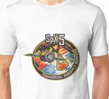 SpX-5 Mission Logo Unisex T-Shirt