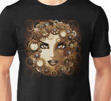 Steampunk Girl Portrait  Unisex T-Shirt