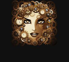 Steampunk Girl Portrait  Unisex T-Shirt