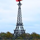 Eiffel Tower Wearing a Cowboy Hat, Paris, Texas by Catherine Sherman