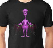Fun Pink Alien Telepathic Power Unisex T-Shirt