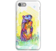 Groundhog drawing - 2011 iPhone Case/Skin