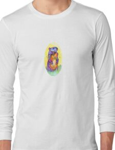 Groundhog drawing - 2011 Long Sleeve T-Shirt
