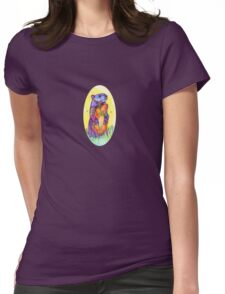 Groundhog drawing - 2011 Womens Fitted T-Shirt