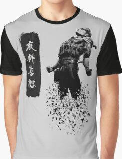 Metal Gear Solid 4 - Dissolving Snake Graphic T-Shirt