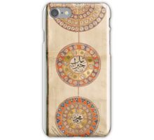 An Illuminated Ottoman Genealogy of the Sultans (Silsilname), Turkey, circa  iPhone Case/Skin