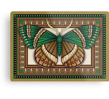 Emerald Butterfly Metal Print