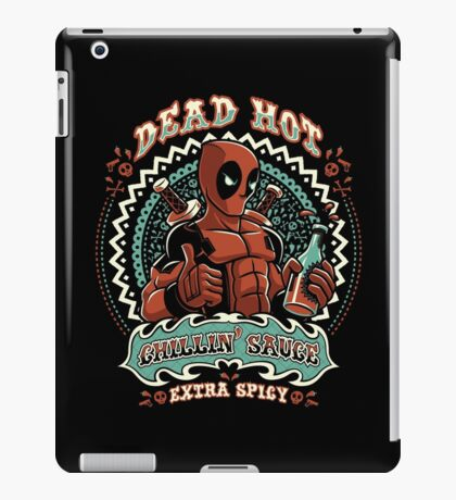 Dead Hot Sauce iPad Case/Skin
