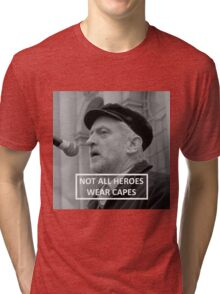 Jeremy Corbyn Hero Tri-blend T-Shirt