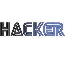 Hacker Moon Photographic Print