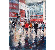 City Life - London Commuters Photographic Print
