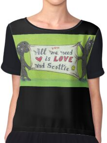All YOU need is.. Chiffon Top