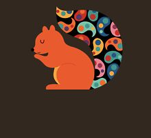 Paisley Squirrel Unisex T-Shirt