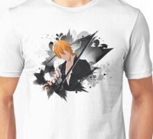 Ichigo Kurosaki before Final Getsuga Unisex T-Shirt