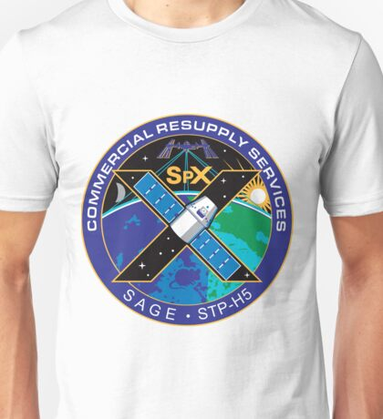 The NASA CRS-10 Logo Unisex T-Shirt