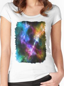Colors 2 Women's Fitted Scoop T-Shirt