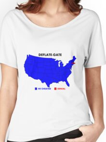 Deflate-Gate Opinion Poll Women's Relaxed Fit T-Shirt