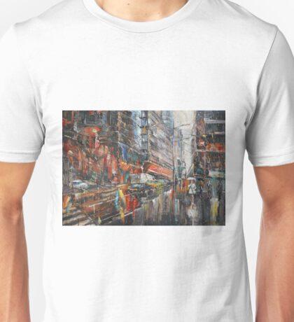 One Rainy Evening Unisex T-Shirt
