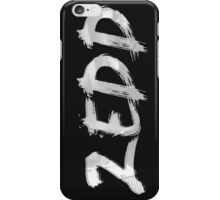 ZEDD LOGO PAINTING iPhone Case/Skin