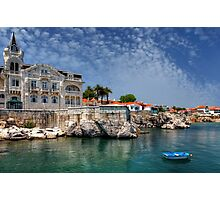 Summer in Cascais Photographic Print