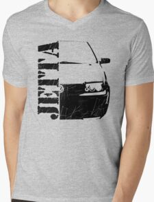 vw jetta Mens V-Neck T-Shirt