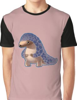 Cute Baby Pangolin  Graphic T-Shirt