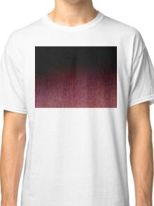 Red Brown and Black Rust Metal Patina Classic T-Shirt