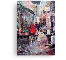 Friends Shopping - Just Browsing Canvas Print