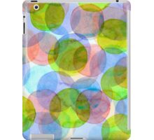 Green Red Blue Circles iPad Case/Skin