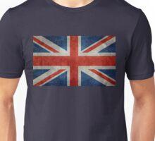 British Union Jack flag Vintage version, scale 3:5 Unisex T-Shirt