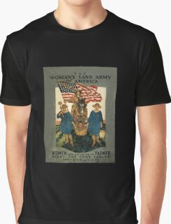 Women's Land Army  of USA WWI Graphic T-Shirt