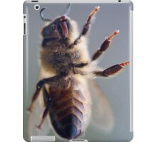 Worker bee up close and VERY personal iPad Case/Skin