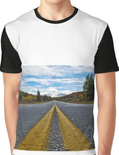 Road to Autumn Graphic T-Shirt