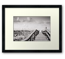pensacola beach, FL Framed Print