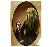 Lovecraft and Cthulhu Poster