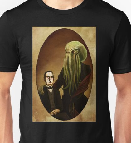 Lovecraft and Cthulhu Unisex T-Shirt