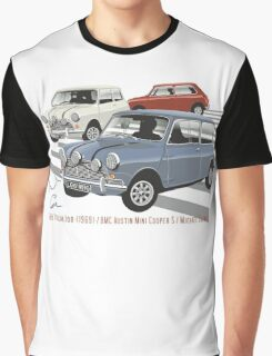 Minis from the The Italian Job Graphic T-Shirt