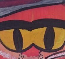 Gangster Fox Sticker