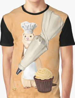 Ferret and Frosting Graphic T-Shirt