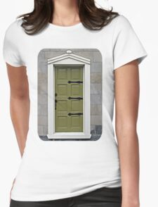 Skinny Door Womens Fitted T-Shirt