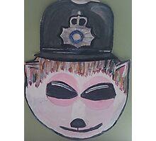Police Hedgehog Photographic Print