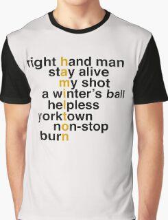 Hamilton Graphic T-Shirt