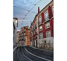 The Tram Stop  Photographic Print