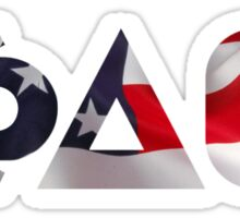 Phi Delta Theta (USA Flag) Sticker
