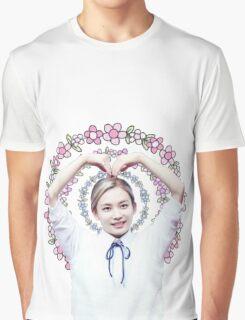Jeonghan/Junghan Seventeen Floral Graphic T-Shirt