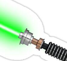 Luke Lightsaber - with lineart  Sticker
